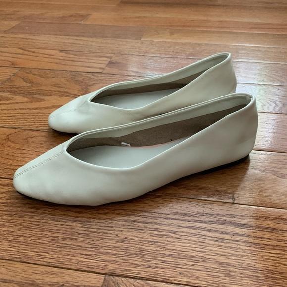 Zara Shoes | Soft Leather Ballet Flats